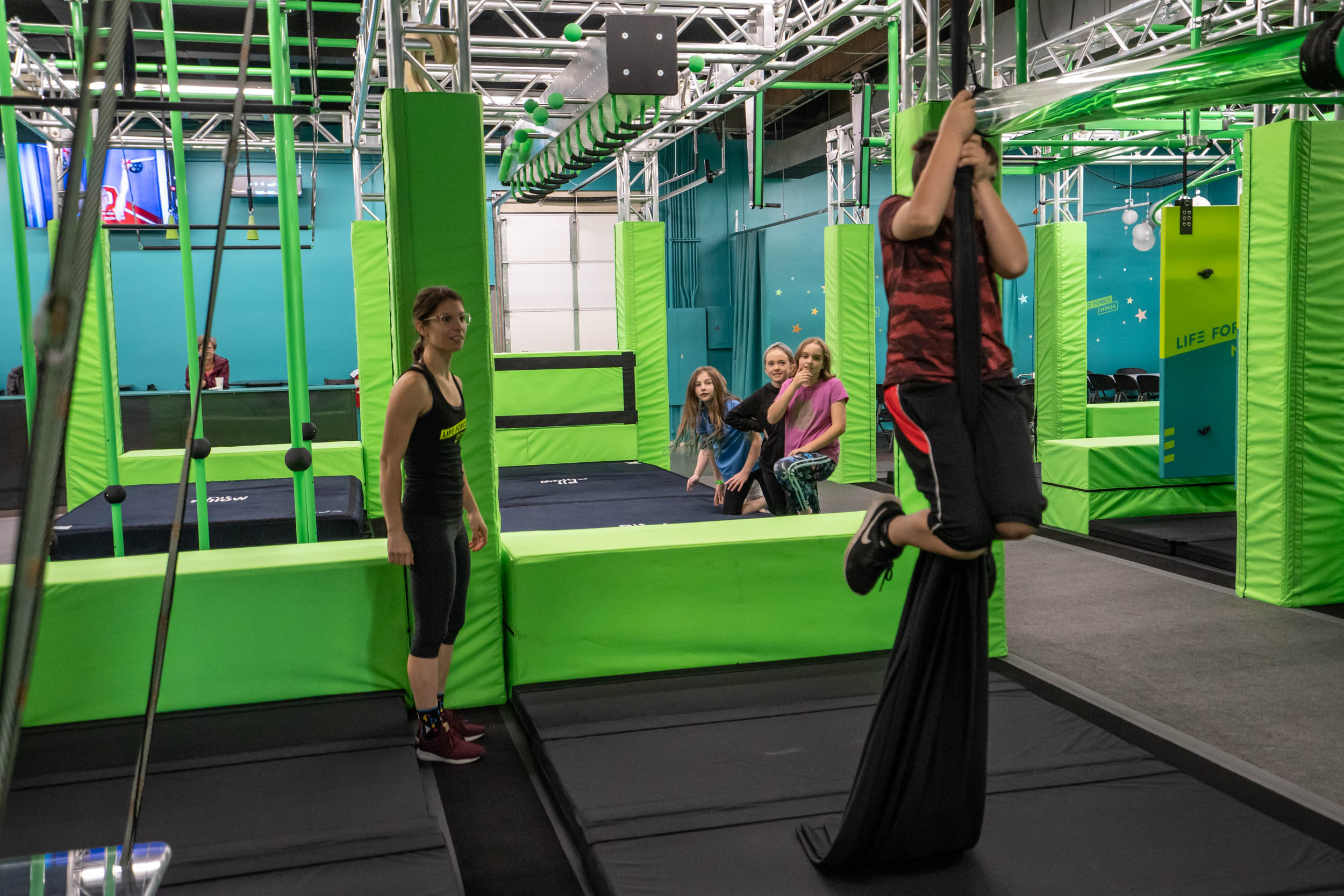 Life Force Ninja Gym - Intro to Obstacle - Bellingham, WA